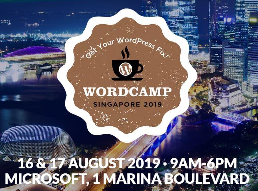 WordCamp Singapore 2019