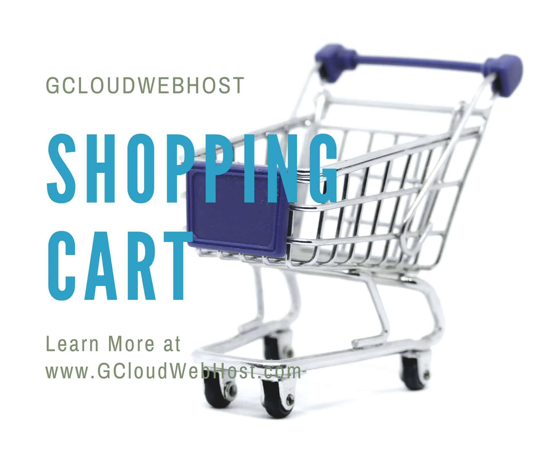 3GCloudWebHost-CartCheckout