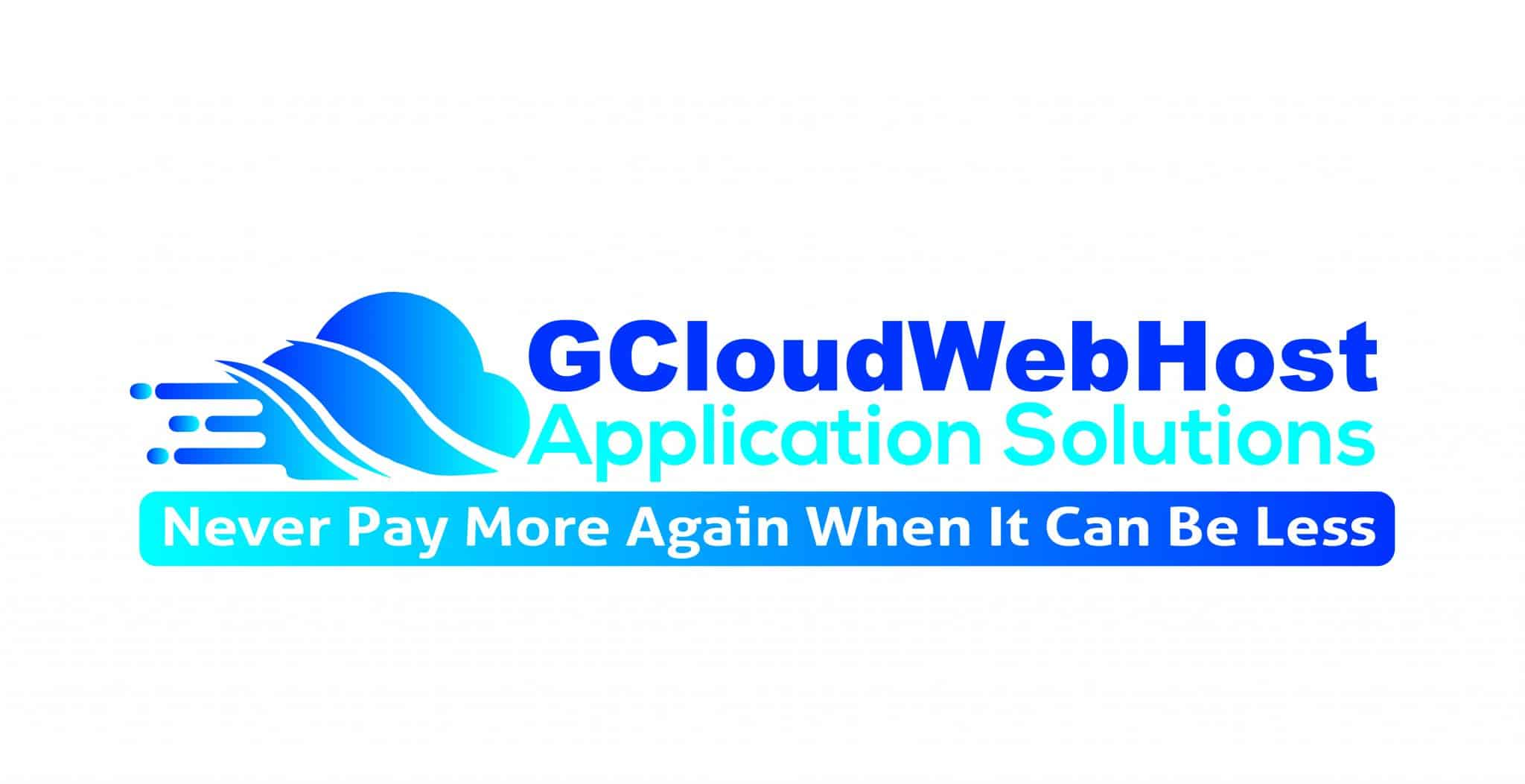 1 GCloudWebHost Cover Page Solid White